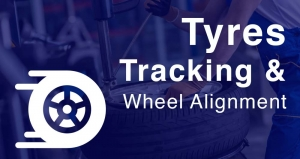 Tyre change and wheel alignment
