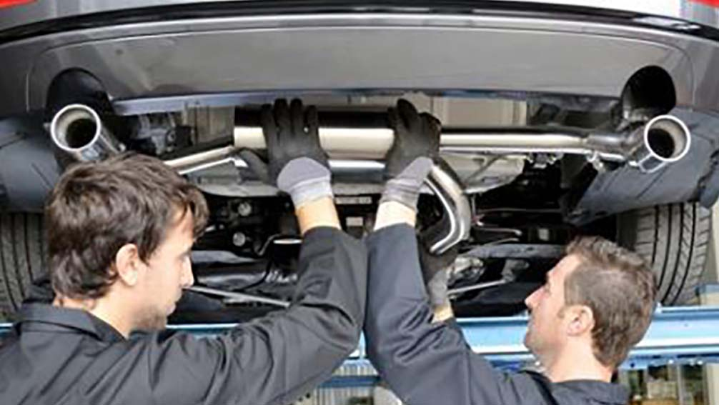 exhaust replacement Norton Canes and Harborne